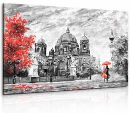 InSmile ® Obraz malebný Berlín