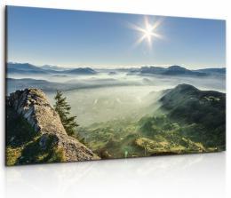 Malvis Obraz panorama sluneèních Alp II