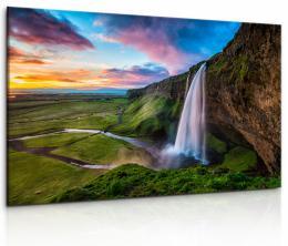 InSmile ® Obraz Islandský vodopád