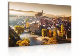 InSmile ® Obraz zámek s panoramou Èeský Krumlov