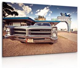 Malvis Obraz Americký motel