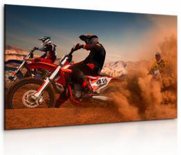 InSmile ® Obraz Zbìsilé motorky