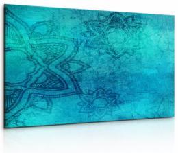 InSmile ® Obraz Nebesky modrá mandala
