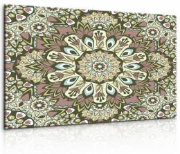 InSmile ® Obraz Mandala s kvìtovými vzory