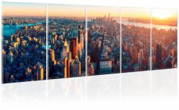 Malvis Vícedílný obraz Manhattan na dlani