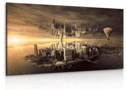 InSmile ® Fantasy New York Velikost (šíøka x výška)  150x85 cm
