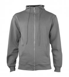 404 Mikina pánská Hooded Steel Gray|S