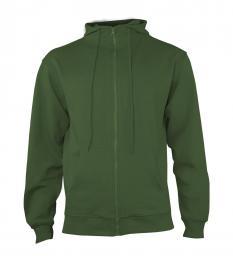 404 Mikina pánská Hooded Forest Green|XL