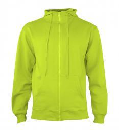 404 Mikina pánská Hooded Lime Punch|S