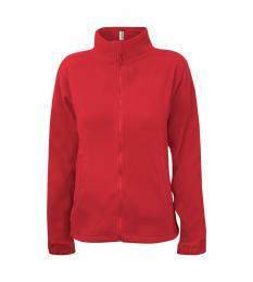 406 Fleece dámská Jacket Alberta Fiery Red|S