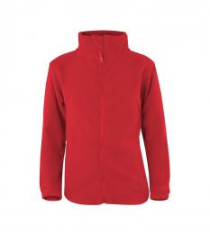 407 Fleece dìtská Jacket Manitoba Fiery Red|122