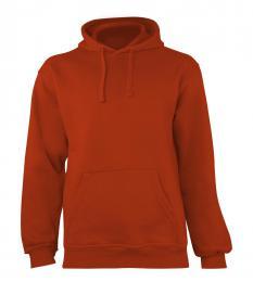 408 Mikina Ohio Red Orange XXL