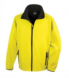 409 Pánská bunda Softshell Nebrask yellow|L