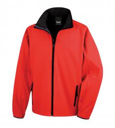 409 Pánská bunda Softshell Nebrask Red|S