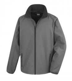 409 Pánská bunda Softshell Nebrask Charcoal|L