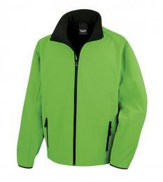 409 Pánská bunda Softshell Nebrask Vivid Green|S