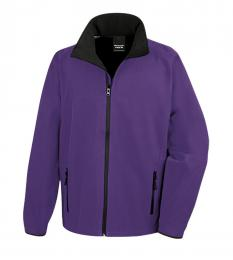 409 Pánská bunda Softshell Nebrask Purple|M