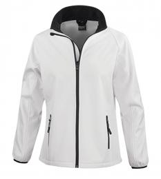 410 Dámská Softshell Nebrask White|XL