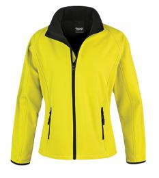 410 Dámská Softshell Nebraska yellow|XS