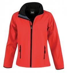 410 Dámská Softshell Nebraska Red|M