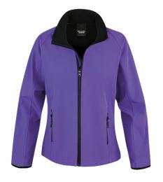 410 Dámská Softshell Nebraska Purple|M