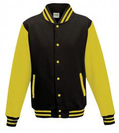 411 Bunda Basseball Jet Black/Sun Yellow|L