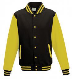 411 Bunda Basseball Jet Black/Sun Yellow|XL