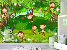 Murando DeLuxe Tapeta opièky