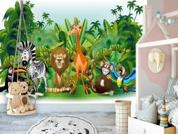 Murando DeLuxe Dìtská tapeta Džungle