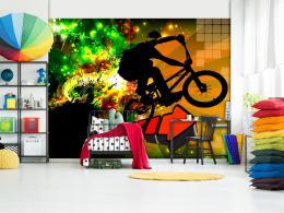 Murando DeLuxe Tapeta extrémní bike