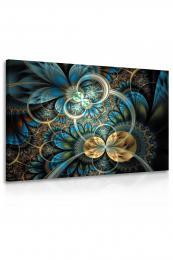 InSmile ® Obraz kvìtinové ornamenty  - zvìtšit obrázek