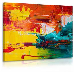 InSmile ® Obraz barevná malba