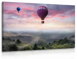 InSmile ® Obraz balóny nad lesem