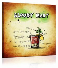 InSmile ® Obraz cedule Bloody Mary  - zvìtšit obrázek