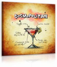 InSmile ® Obraz cedule Cosmopolitan