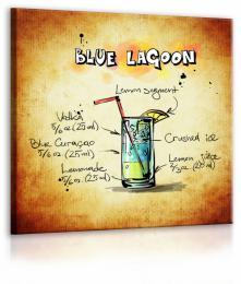 InSmile ® Obraz cedule Blue Lagoon  - zvìtšit obrázek