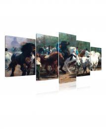 InSmile ® Obraz - stádo koní
