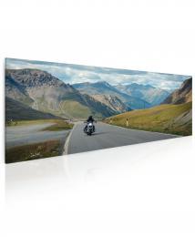 InSmile ® Obraz Na motorce v horách