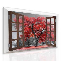 InSmile ® Obraz podzimní atmosféra - strom