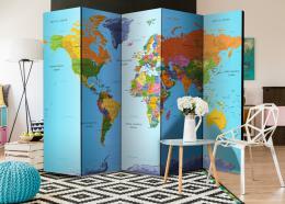 Murando DeLuxe Paraván barevná geografie  - zvìtšit obrázek
