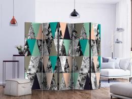 Murando DeLuxe Paraván tropická mozaika  - zvìtšit obrázek