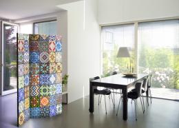 Murando DeLuxe Paraván barevná mozaika  - zvìtšit obrázek