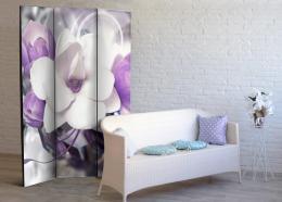 Murando DeLuxe Paraván fialové kvítí  - zvìtšit obrázek