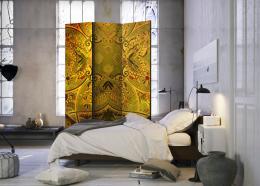 Murando DeLuxe Paraván mandala zlatá síla I  - zvìtšit obrázek