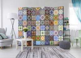 Murando DeLuxe Paraván barevná mozaika II  - zvìtšit obrázek