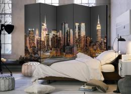 Murando DeLuxe Paraván New York za soumraku II  - zvìtšit obrázek