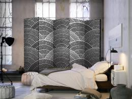 Murando DeLuxe Paraván èernobílá mozaika II  - zvìtšit obrázek