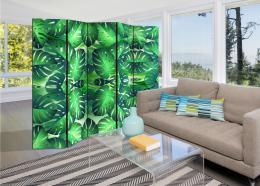 Murando DeLuxe Paraván tropické listy  - zvìtšit obrázek