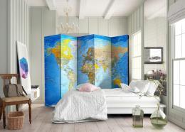 Murando DeLuxe Paraván klasická mapa svìta  - zvìtšit obrázek