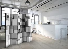 Murando DeLuxe Paraván geometrická skládanka  - zvìtšit obrázek